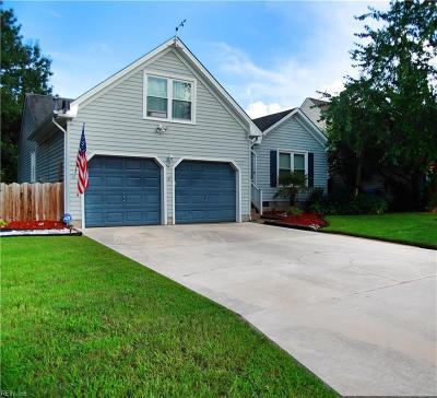 Virginia Beach Single Family Home New Listing: 2000 Pheasant Hill Ct