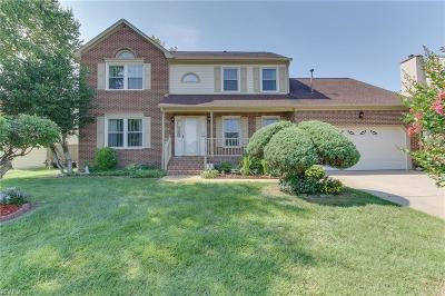 Virginia Beach Single Family Home New Listing: 1816 Burwillow Dr