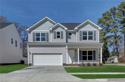 Norfolk Single Family Home New Listing: 868 Brentwood Dr