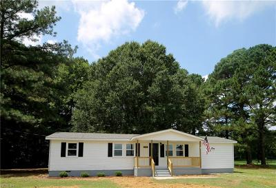 Suffolk Single Family Home New Listing: 7589 Elwood Rd