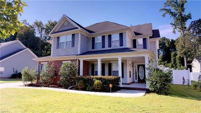 Virginia Beach Single Family Home New Listing: 1025 Stratem Ct