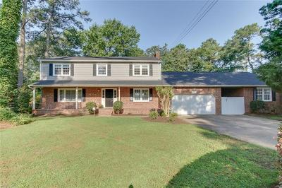 Virginia Beach Single Family Home New Listing: 637 Cedar Ln