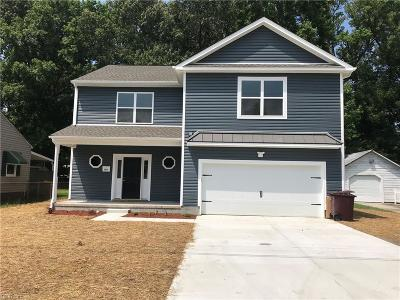 Portsmouth Single Family Home New Listing: 308 Weston St