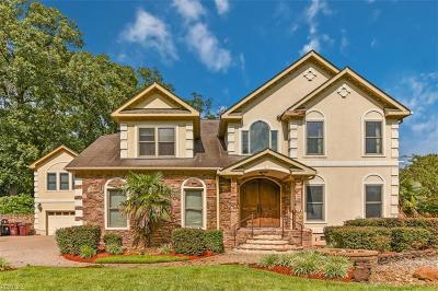 Chesapeake Single Family Home New Listing: 501 Shadow Brooke Dr