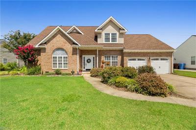 Chesapeake Single Family Home New Listing: 412 Chandler Dr
