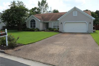 Virginia Beach Single Family Home New Listing: 2640 Level Loop