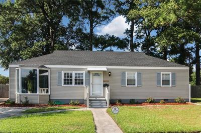 Norfolk Single Family Home New Listing: 5524 Texas Ave