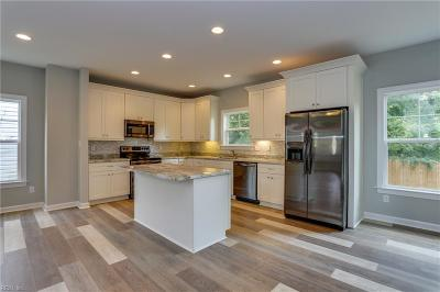 Norfolk Single Family Home New Listing: 1726 Fontainebleau Cres