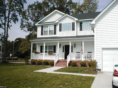 Virginia Beach Single Family Home New Listing: 4829 Hook Ln
