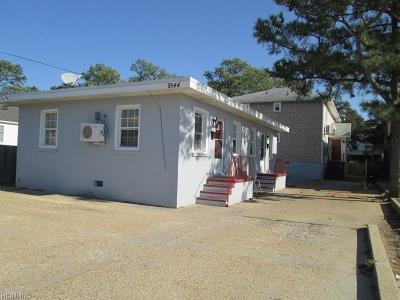 Norfolk Single Family Home New Listing: 9544 5th Bay St