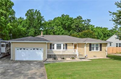 Suffolk Single Family Home New Listing: 1849 Oyster Bay Ln