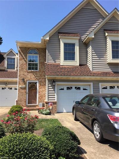 Chesapeake Single Family Home New Listing: 1300 Bunker Ridge Arch #D