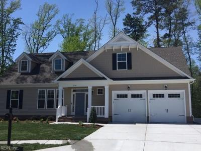 Chesapeake Single Family Home Under Contract: Lot 40 Silverton Way