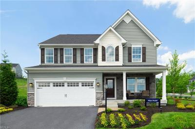 Chesapeake Single Family Home New Listing: Mm The Milan At Culpepper Landing