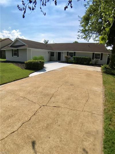 Virginia Beach Single Family Home New Listing: 2001 Belvidere Rd