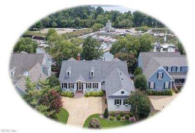 Williamsburg Single Family Home For Sale: 1592 Harbor Rd