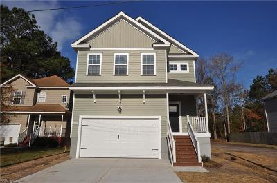 Chesapeake Single Family Home Under Contract: 660 Luther St