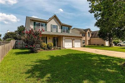 Virginia Beach Single Family Home New Listing: 2604 Pender Dr
