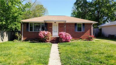 Portsmouth Single Family Home New Listing: 4016 Clifford St