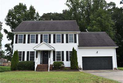 Suffolk Single Family Home New Listing: 1708 Mill Wood Way