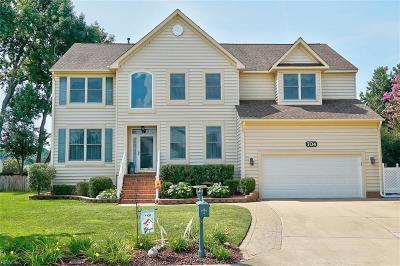 Chesapeake Single Family Home New Listing: 704 Abilene Ct