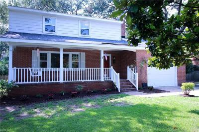 Virginia Beach Single Family Home New Listing: 2980 Lynnhaven Dr