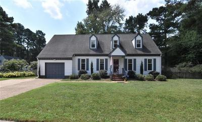 Chesapeake Single Family Home New Listing: 424 Pines Of Warrick Dr
