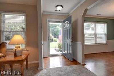 Chesapeake Single Family Home New Listing: 722 Deer Ridge Ct