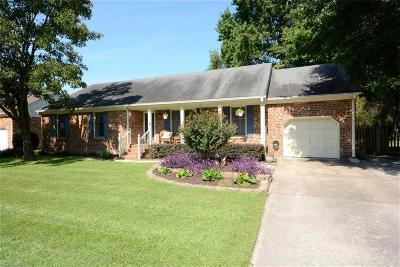 Portsmouth Single Family Home New Listing: 3908 Hardwood Dr