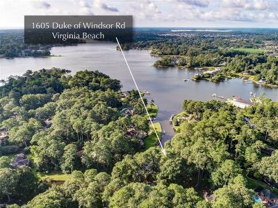 Single Family Home For Sale: 1605 Duke Of Windsor Rd