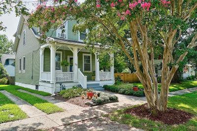 Norfolk Single Family Home New Listing: 515 New York Ave