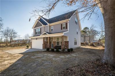 Suffolk Single Family Home New Listing: 3930 Pughsville Rd