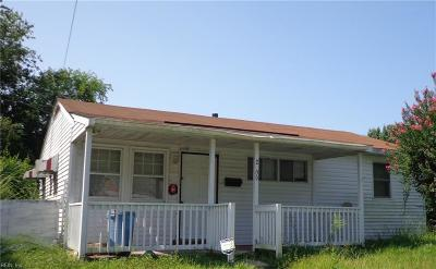 Portsmouth Single Family Home New Listing: 2209 Rose Ave