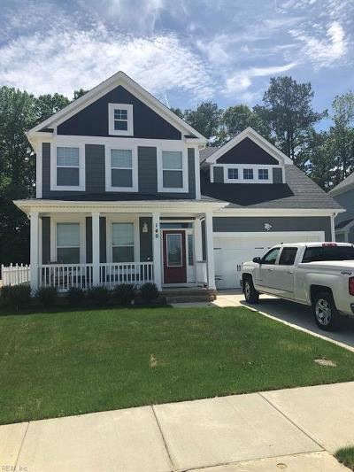 Suffolk Single Family Home Under Contract: 140 Brookside Ln