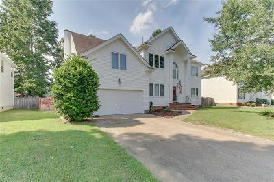 Chesapeake Single Family Home New Listing: 2208 Chesterfield Loop