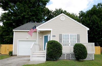Chesapeake Single Family Home New Listing: 3506 Franklin St