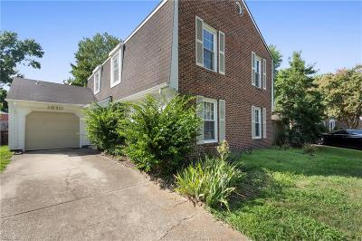 Chesapeake Single Family Home New Listing: 1910 Kelly Rn