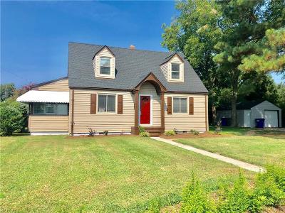 Norfolk Single Family Home New Listing: 7925 Galveston Blvd