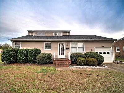 Hampton Single Family Home New Listing: 2801 Bending Oak Dr