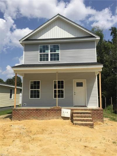 Suffolk Single Family Home New Listing: 316 Woodruff St