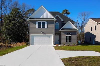 Newport News Single Family Home For Sale: 281 Richneck Rd