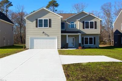 Newport News Single Family Home For Sale: 283 Richneck Rd