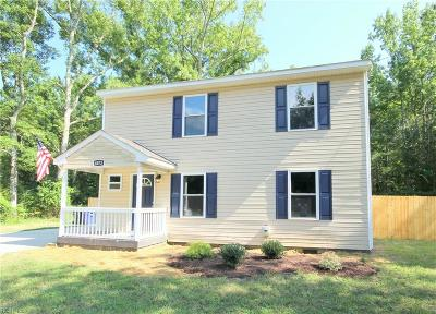 Suffolk Single Family Home New Listing: 4073 Pughsville Rd