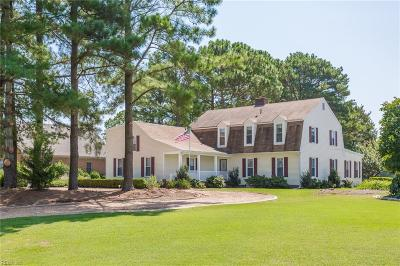 Suffolk Single Family Home For Sale: 9052 River Cres