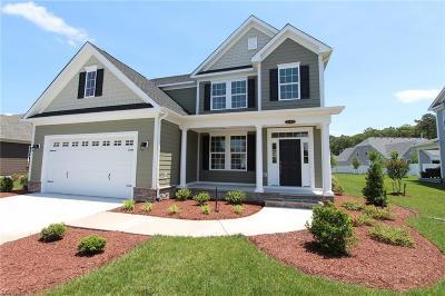 Chesapeake Single Family Home New Listing: Mm Sandalwood (Vance Landing)
