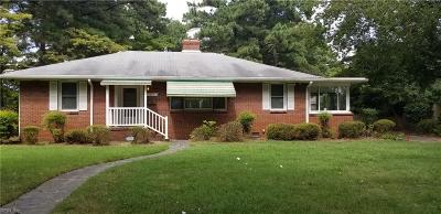 Norfolk Single Family Home New Listing: 7054 Kirby Cres