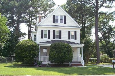 Hampton Single Family Home New Listing: 109 Greenbriar Ave
