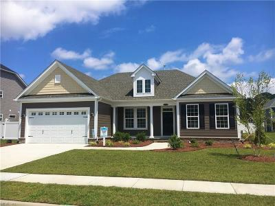 Chesapeake Single Family Home New Listing: Mm Everly (Vance Landing)