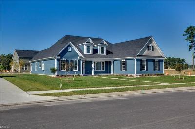 Chesapeake Single Family Home New Listing: Mm Gardenia (Vance Landing)