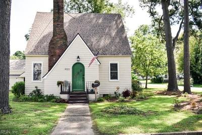 Portsmouth Single Family Home New Listing: 4323 County St